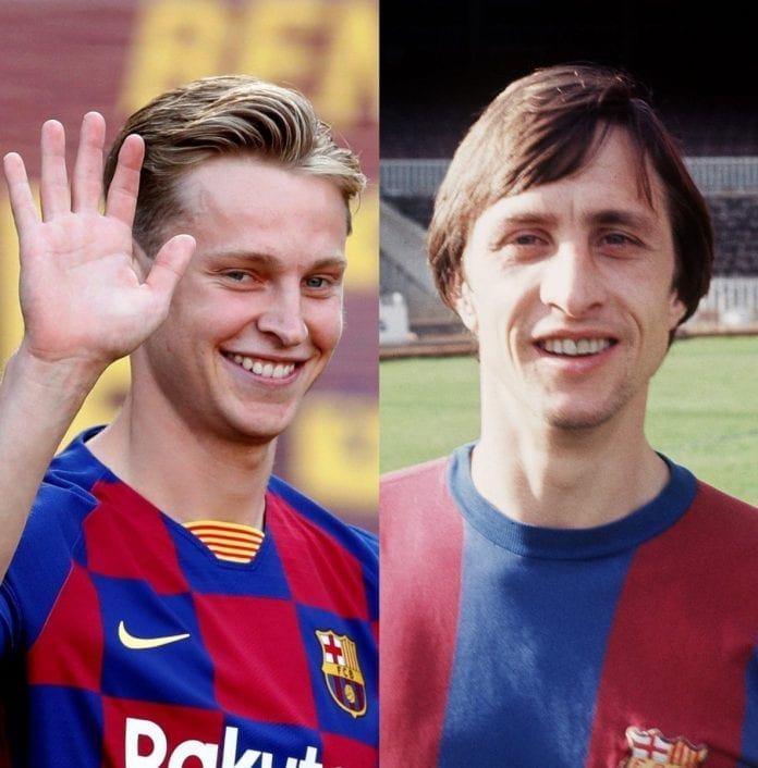 De Jong y Cruyff