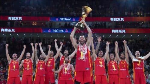 Españase proclamócampeona del mundo