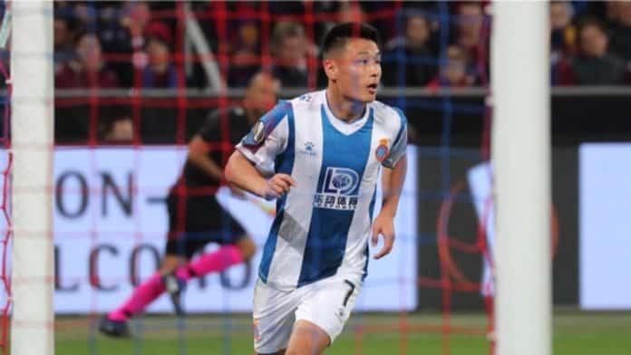 Wu Lei confirmó que se quedará en el Espanyol