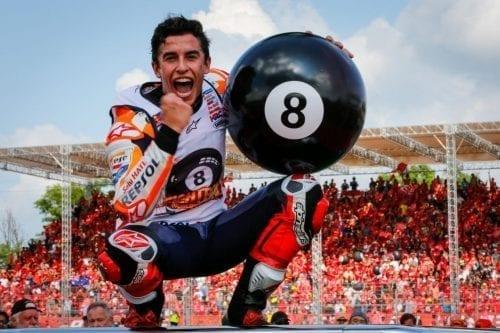 Marc Márquez rubrica el octavo título