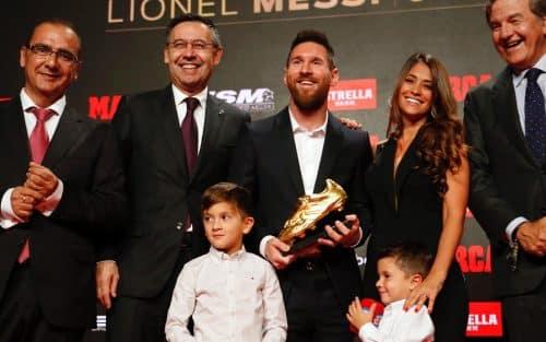 Messi su sexta Bota de Oro