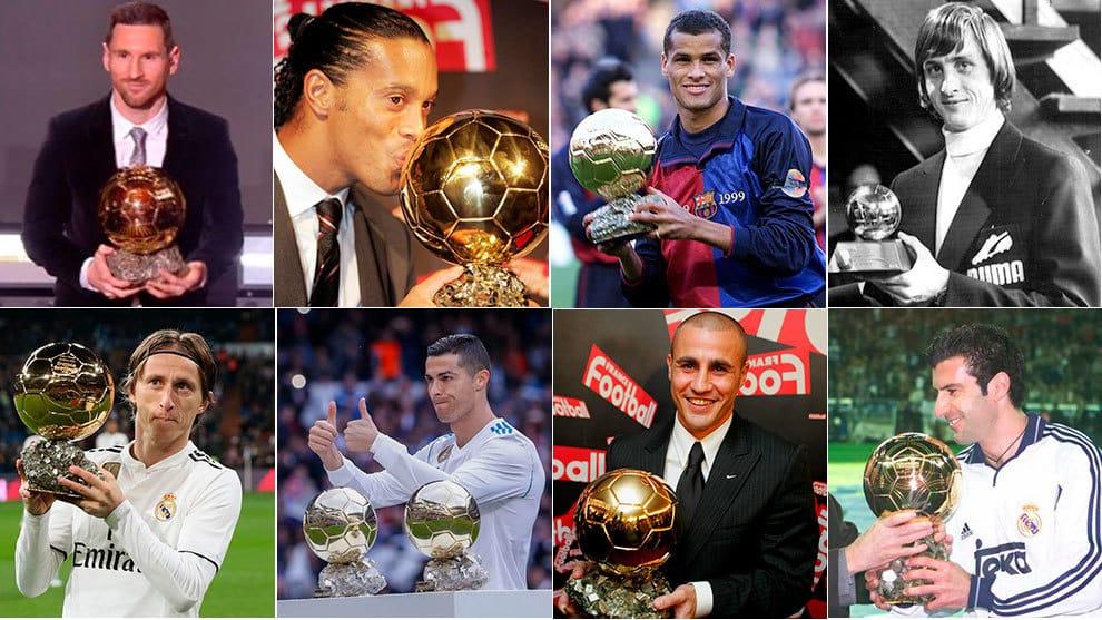 Barça ya aventaja al Real Madrid Balón de Oro