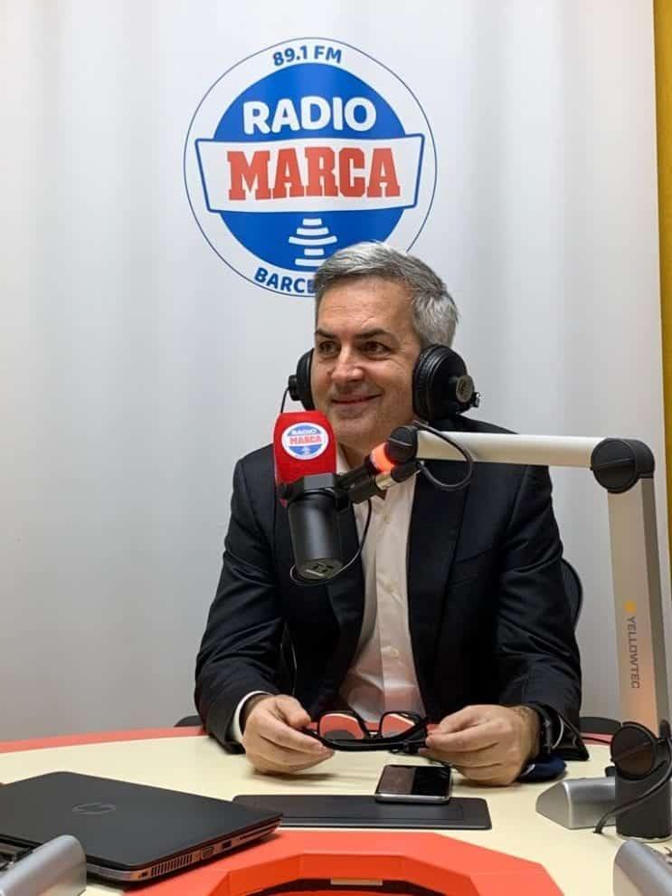 Víctor Font, en la sintonía de Radio MARCA