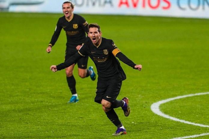 Messi ya es Pichichi