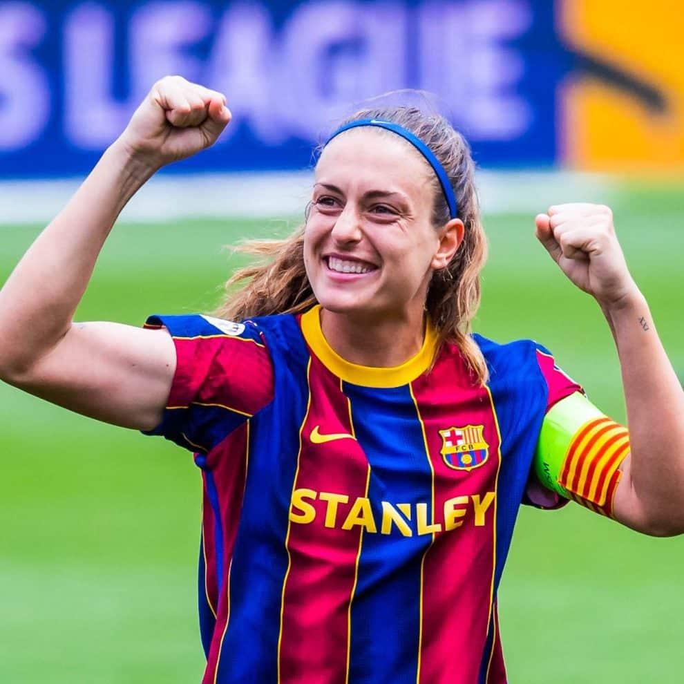 Alexia Putellas hace historia al ser nombrada 'Mejor Jugadora de la UEFA'