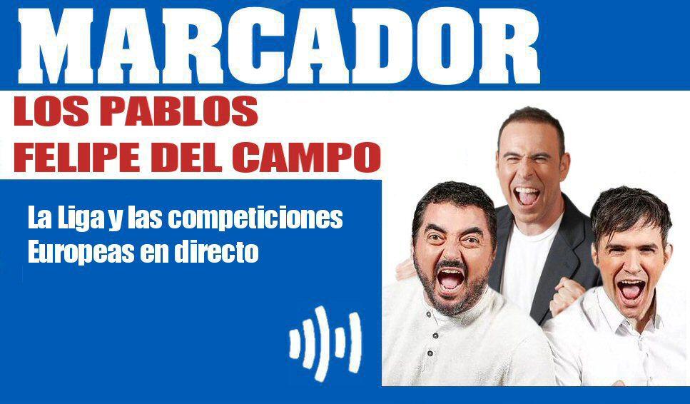Marcador Pablos y Felipe