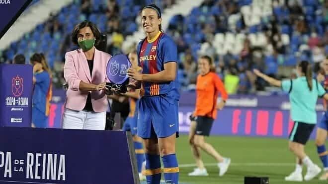 Alexia Putellas, MVP en una Copa hecha a su medida