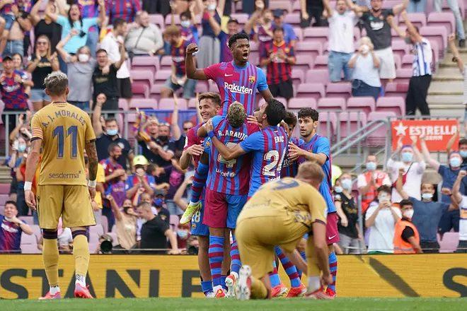 El Barça es una fiesta: Ansu Fati regresa... y ¡marca!