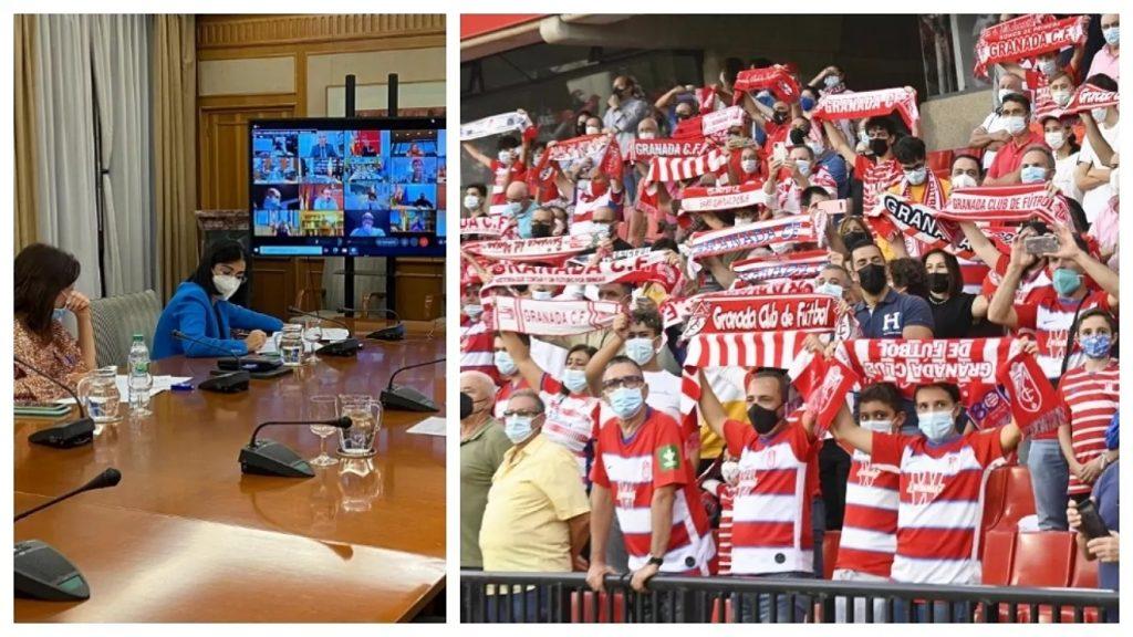 Vuelve el público al 100% a los estadios de LaLiga y en la ACB 80%
