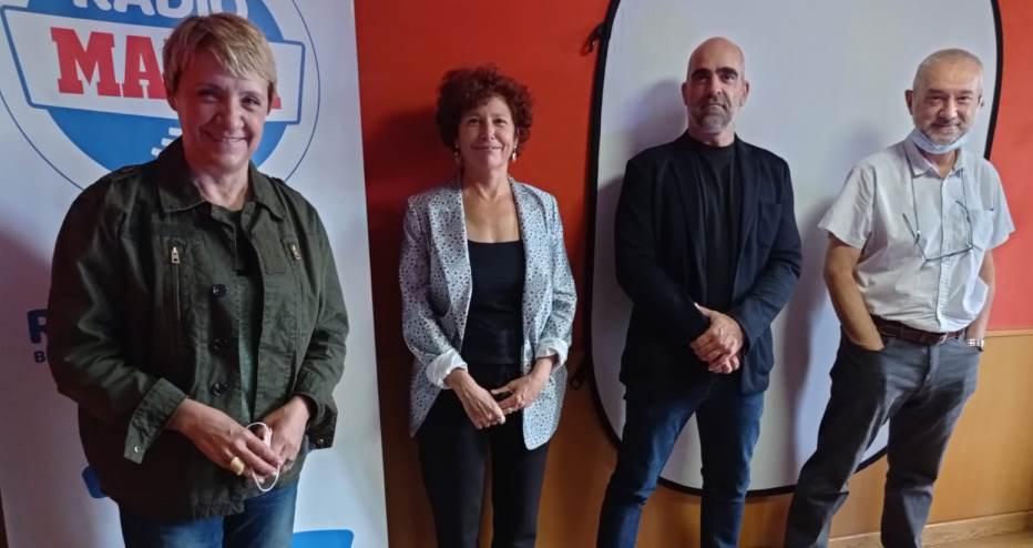 Iciar Bollain, Blanca Portillo y Luis Tosar presentan Maixabel en La Claqueta